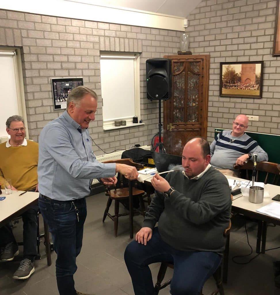Sint Hubertus Gilde Liessel - Secretaris Mark Joosten